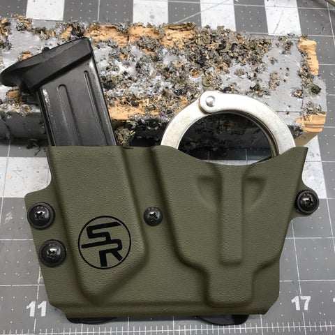 Handcuff/Magazine Combo Carrier - Stay Ready Gear LLC™