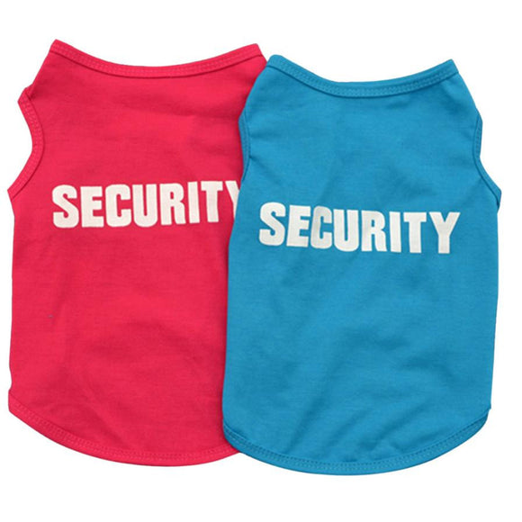 Dog Security Sleeveless T-Shirt