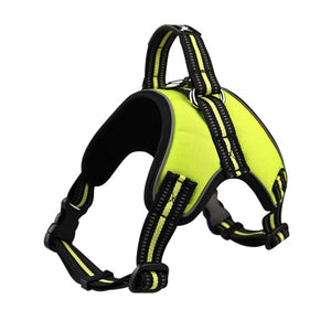 Reflective Harness Halter Chest Strap For Dogs