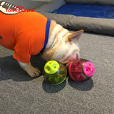 Dog Feeding Ball Dispenser Tumbler Toy