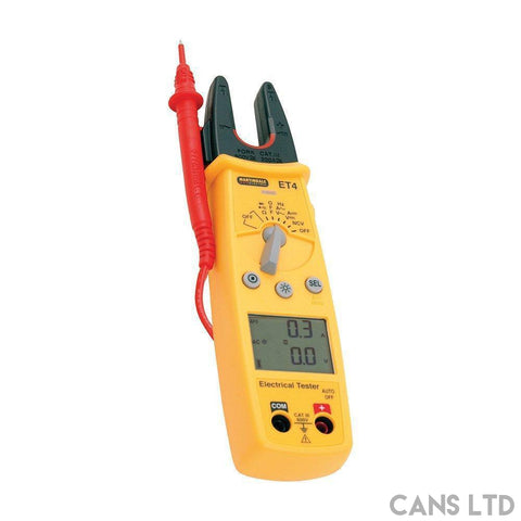 Martindale ET4 Electrical Tester - CANS LTD