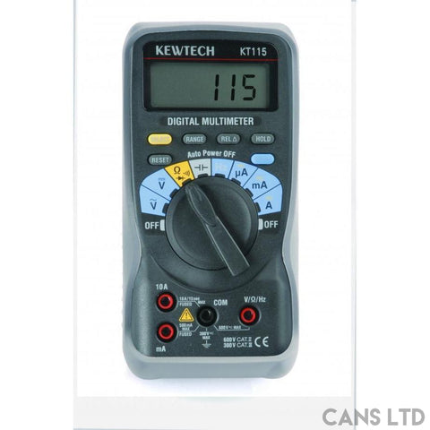 Kewtech KT115 Multimeter - CANS LTD