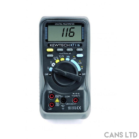 Kewtech KT116 Multimeter - CANS LTD