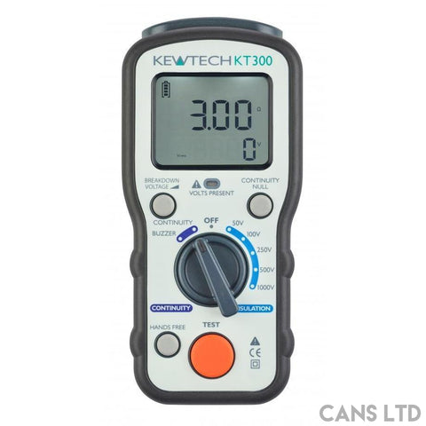 Kewtech KT300 Insulation / Continuity Tester - CANS LTD