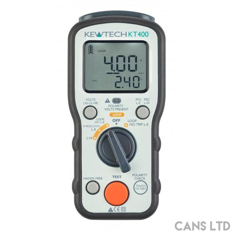 Kewtech KT400 Loop Tester - CANS LTD