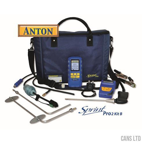 Anton Sprint Pro2 Kit B Multifunction Flue Gas Analyser Kit - CANS LTD