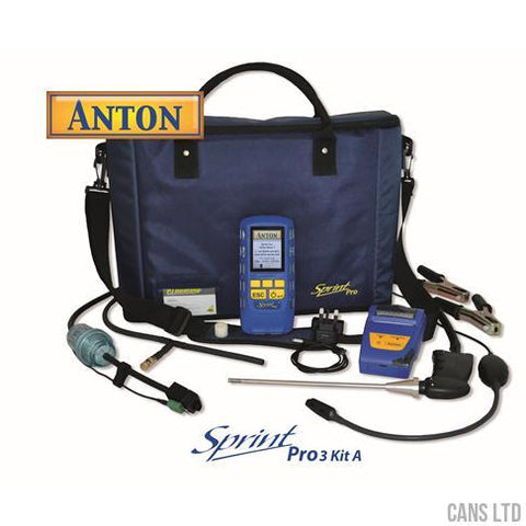 Anton Sprint Pro3 Kit A Multifunction Flue Gas Analyser Kit - CANS LTD