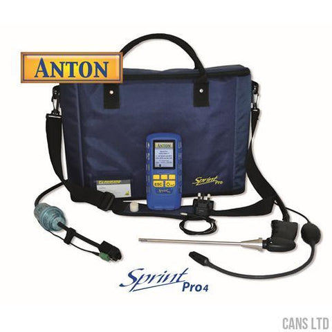 Anton Sprint Pro4 Bluetooth Multifunction Flue Gas Analyser (with CO2) - CANS LTD