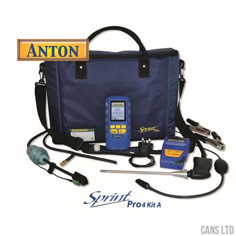 Anton Sprint Pro4 Kit A Multifunction Flue Gas Analyser Kit - CANS LTD