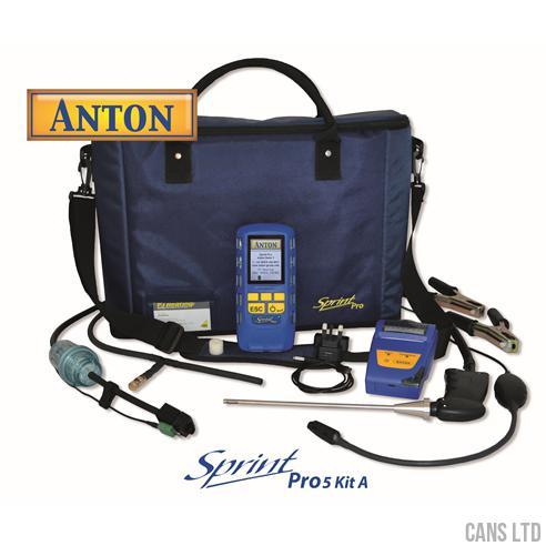 Anton Sprint Pro5 Kit A Multifunction Flue Gas Analyser Kit - CANS LTD