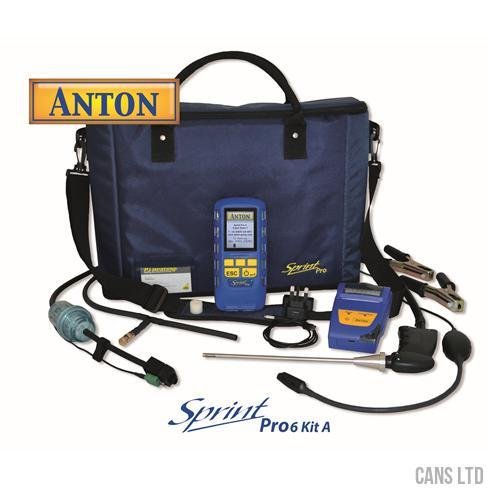 Anton Sprint Pro6 Kit A Multifunction Flue Gas Analyser Kit - CANS LTD
