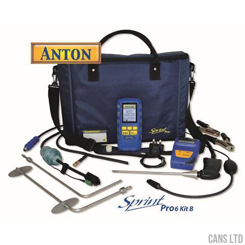 Anton Sprint Pro6 Kit B Multifunction Flue Gas Analyser Kit - CANS LTD