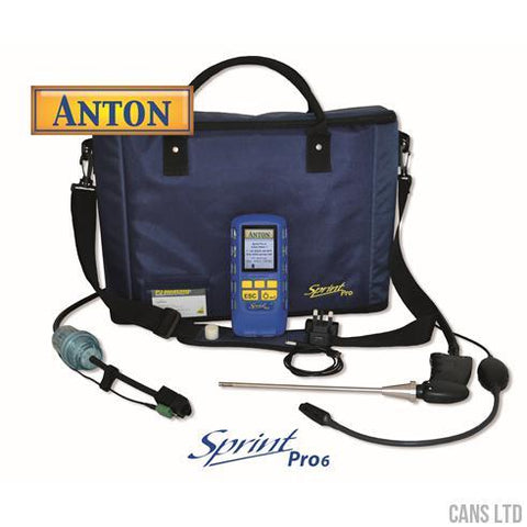 Anton Sprint Pro6 Multifunction Flue Gas Analyser (with NO & CO2) - CANS LTD