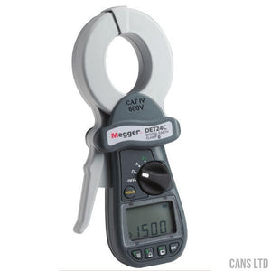 Megger DET24C Bluetooth Clamp-On Earth Tester - CANS LTD