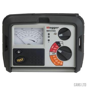 Megger MIT310A Analogue Insulation Tester for Electricians - CANS LTD