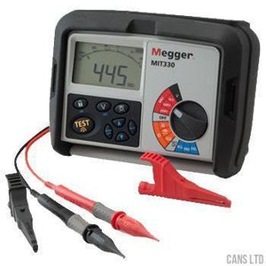 Megger MIT330 Digital Insulation Tester for Electricians - CANS LTD