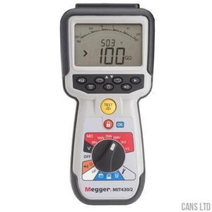 Megger MIT410/2 Industrial Maintenance Insulation and Continuity Tester - CANS LTD