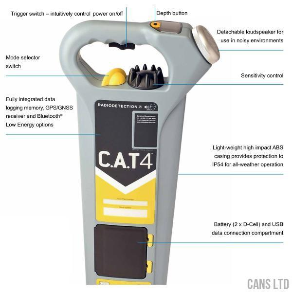 Radiodetection CAT4+ with Metric Depth Estimation - CANS LTD