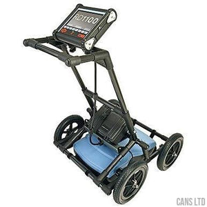 Radiodetection RD1100 Ground Penetrating Radar with Large Wheel Set; Mains Lead - CANS LTD