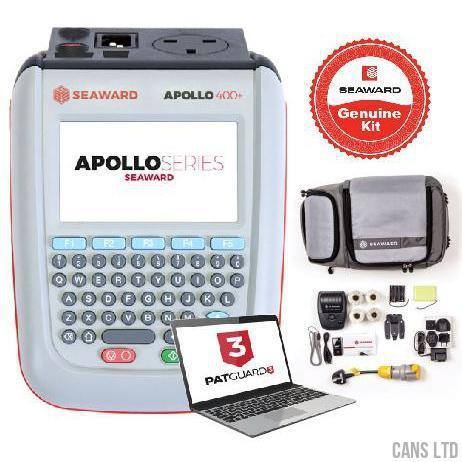 Seaward Apollo 400+ PAT Tester with Pro Bundle (with Software) - CANS LTD