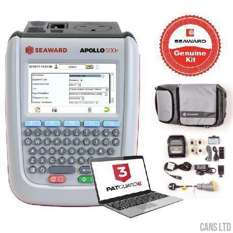 Seaward Apollo 500+ PAT Tester with Elite Bundle (with Software) - CANS LTD