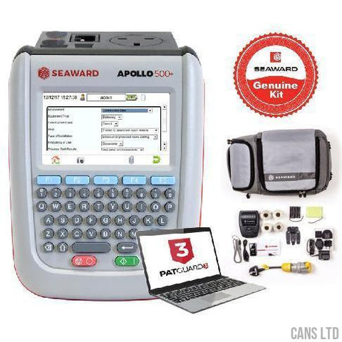 Seaward Apollo 500+ PAT Tester with Pro Bundle (with Software) - CANS LTD