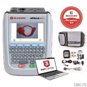 Seaward Apollo 600+ PAT Tester with Elite Bundle (with Software) - CANS LTD