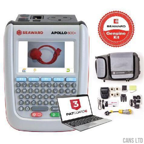 Seaward Apollo 600+ PAT Tester with Pro Bundle (with Software) - CANS LTD
