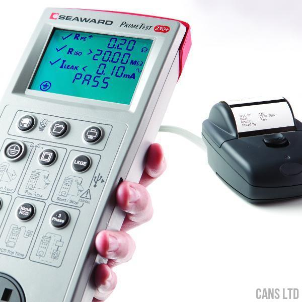 Seaward PrimeTest 250+ PAT Tester - CANS LTD