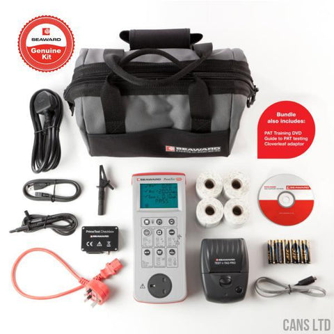 Seaward PrimeTest 250+ Pro PAT Kit Bundle (with Software) - CANS LTD