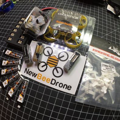 Build Log: AcroBee featuring BeeBrain v2