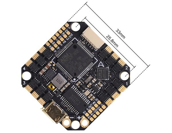 BetaFPV Toothpick F722 2-6S AIO Brushless Flight Controller 35A(BLHeli_S) size