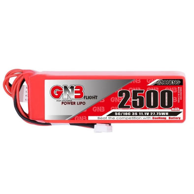 GNB 2500mAh 11.1V 3S - For X9D Radio (FUTABA, XH2.54  and JST)