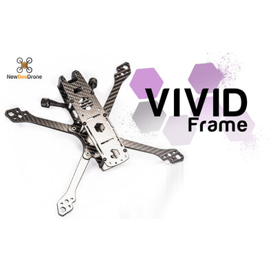 NewBeeDrone Vivid - 5 inch Freestyle HD Frame