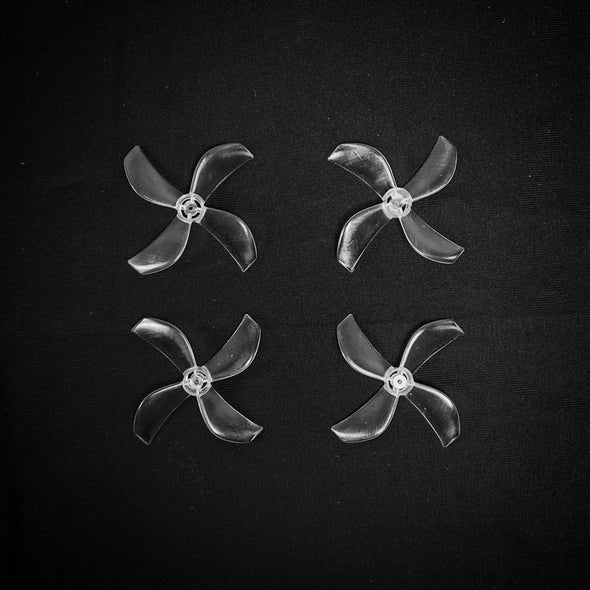 NewBeeDrone Azi (Quad Blade) 31mm Micro Propeller (Set of 4)