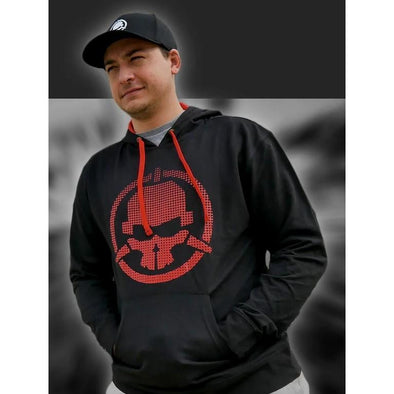 Rotor Riot Hoodie Black and Red