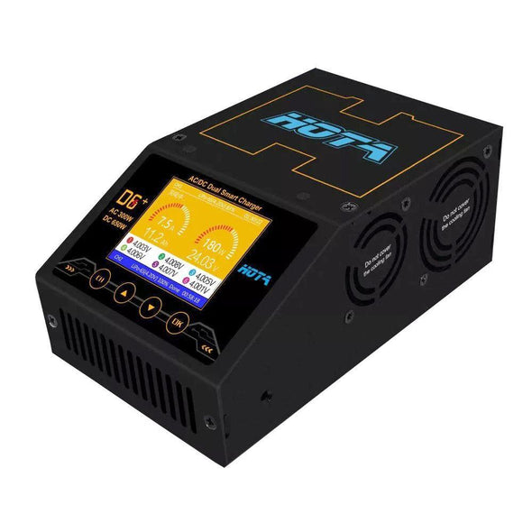 HOTA D6+ Dual Channel 325W 15A AC/DC Battery Charger