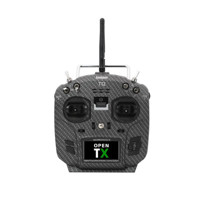 Jumper T12 Pro Hall Carbon Mode2 Multi-protocol 2.4G 10CH Transmitter Radio