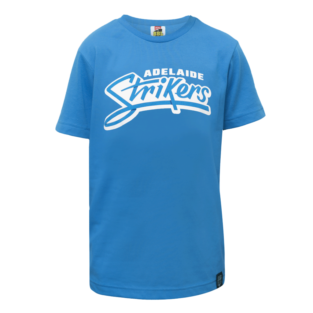 BBL Logo T-Shirt Junior- Adelaide Strikers