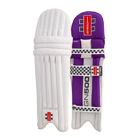 Gray-Nicolls GN 500 Batting Pads - Purple