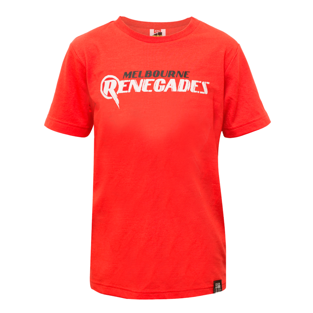 BBL Logo T-Shirt Junior- Melbourne Renegades