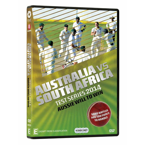 DVD - Australia vs South Africa 2014 Aussie Will To Win