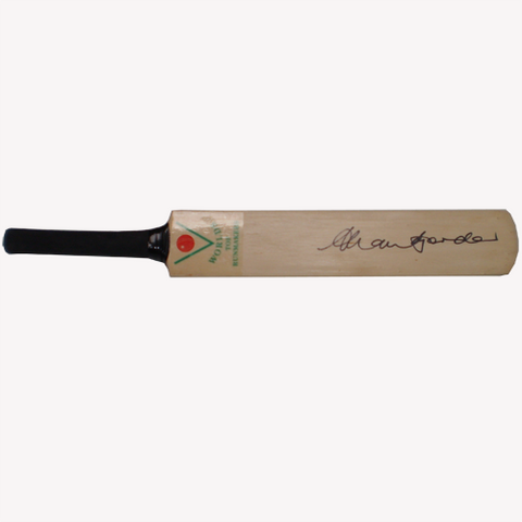 Allan Border Signed Mini Bat