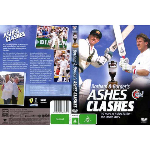 DVD - Ashes Clashes.
