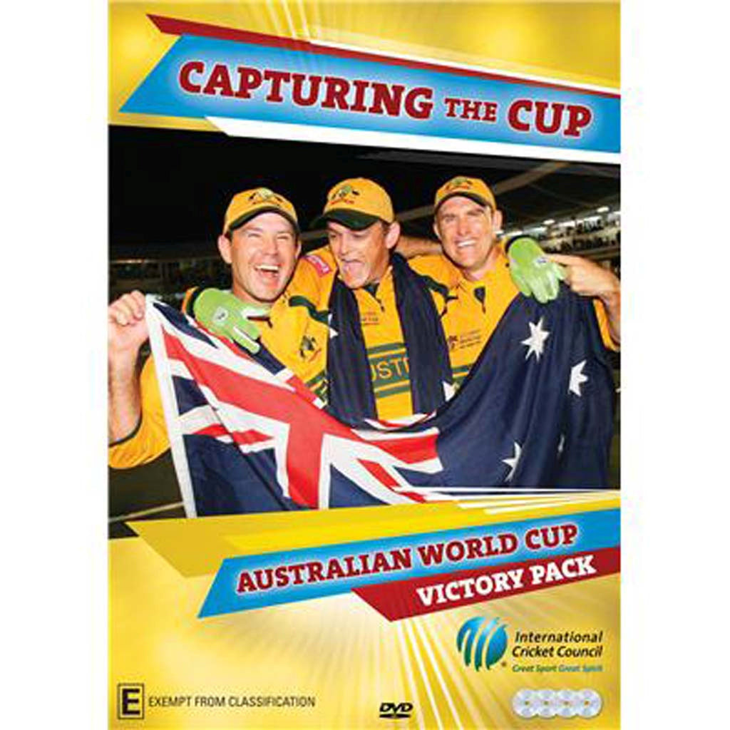 DVD - Capturing The Cup: Australian World Cup Victory Pack
