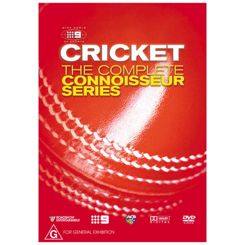 DVD - Cricket Connoisseur Series Box Set