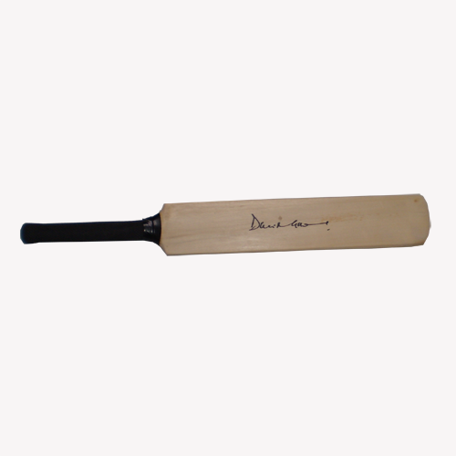 D.I. Gower Signed Mini Bat