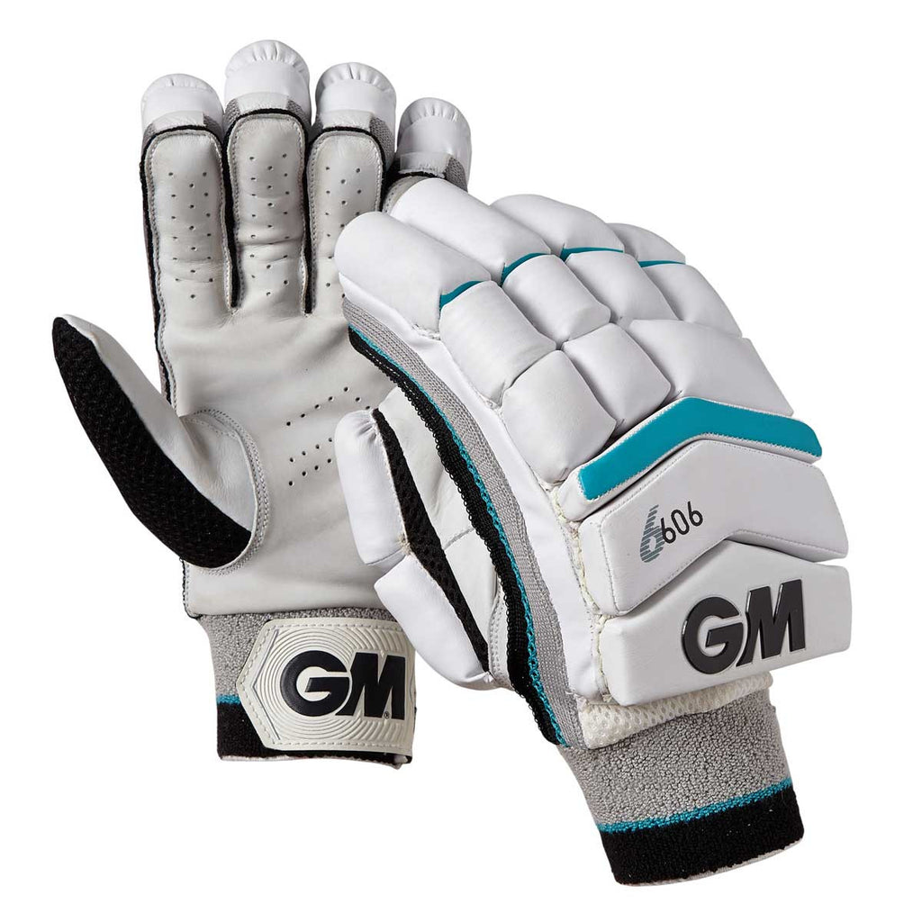 Gunn & Moore 606 Batting Gloves - Aqua Blue