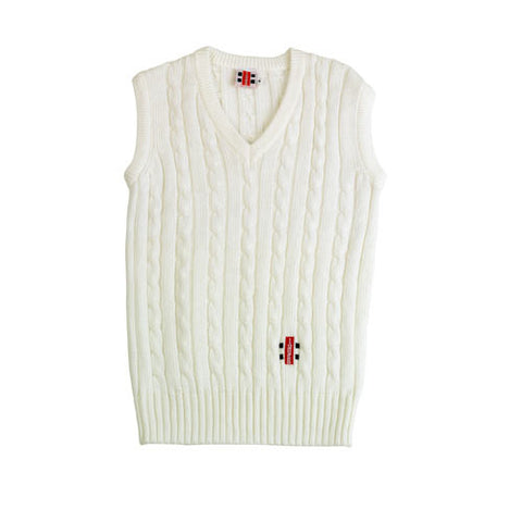 Gray-Nicolls Sleeveless Sweater Plain - Junior