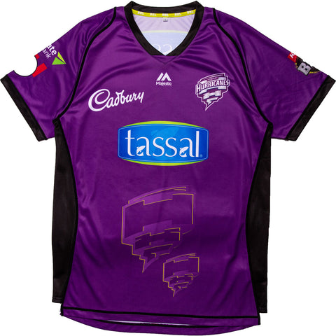 BBL - 2018 Hobart Hurricanes Senior Replica Top